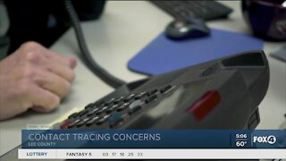 Contact tracing concerns in Lee County