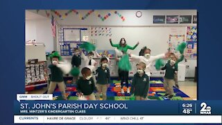 St. John's Parish Day School in Ellicott City says Good Morning Maryland!