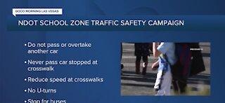 NDOT school zone traffic safety campaign
