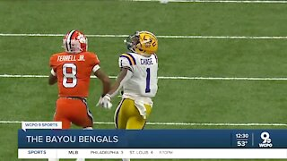 Bengals draft LSU wide receiver Ja'Marr Chase with No. 5 pick in the first round
