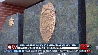 New arrest in Police Memorial vandalism
