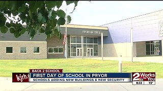 First day of school in pryor