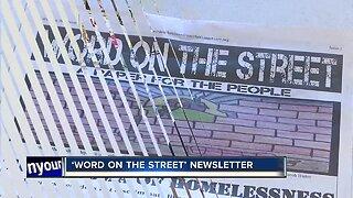 Homeless people start newsletter for their community