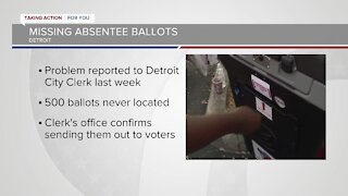 Only on 7: Hundreds of missing absentee ballots prompt investigation in Detroit
