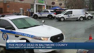Five people dead in Baltimore County