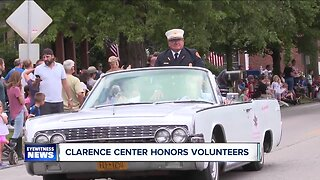 Clarence Center honors volunteer firefighters in annual parade