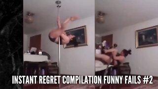 Instant Regret Compilation Funny Fails #2
