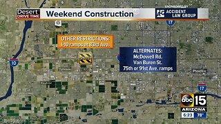 Weekend Traffic Alert (June 21-24): Three Valley freeways will have closures