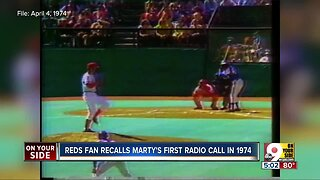 Fans recall Marty Brennaman's first radio call in 1974