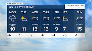 Dangerously low temperatures stick around Sunday