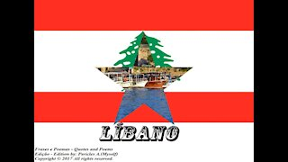 Bandeiras e fotos dos países do mundo: Líbano [Frases e Poemas]