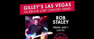 Virtual concert with Rob Staley tonight