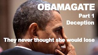 Obamagate: Deception Part 1