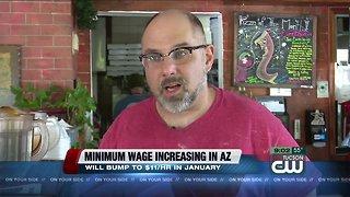 Minimum wage increasing for 2019