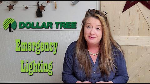 Dollar Tree Emergency Lighting ~ Prepping Supplies