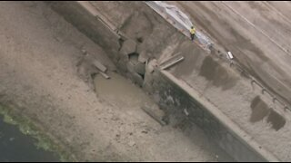 Gas line explosion shuts down all north and southbound lanes of Florida Turnpike near Lake Worth Road