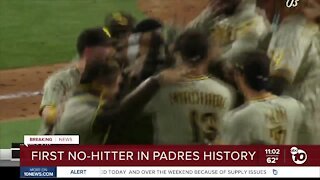 First no-hitter in Padres history