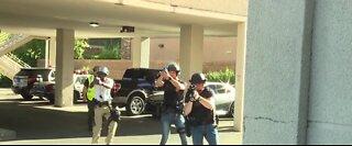 Las Vegas Metro police, UMC team up for active shooter training