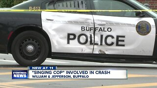 """Motorcyclist in critical condition following crash with one of Buffalo's """"Singing Cops"""""""