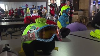 Girls learn wilderness safety at Bogus Basin