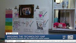 Pilot program will help parents with online learning