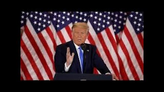 Trump Addressing the Nation: Election Update