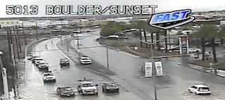 Rain in the Las Vegas valley