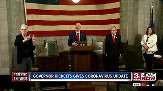 Gov. Ricketts gives coronavirus update
