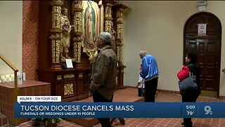 Tucson Diocese cancels all public masses, gatherings