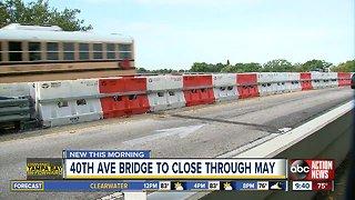 40th Avenue NE Bridge shut down for interim repairs