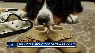 Emily Beier expecting first child
