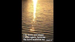Psalms 3 in Biblical Hebrew