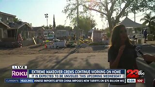 Officials provide update on Bakersfield house being remodeled for Extreme Makeover: Home Edition