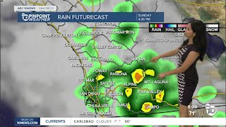 ABC 10News Pinpoint Weather for Sun. July 25, 2021