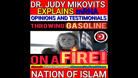 DR. JUDY MIKOVITS EXPLAINS mRNA TO THE NATION OF ISLAM