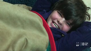 Sensory room at Tampa school helps kids with autism relax
