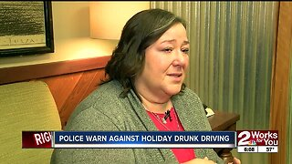 MOM WARNS AGAINST DRUNK DRIVING