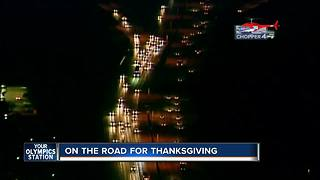 More Thanksgiving travelers on Wisconsin roads