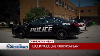 Euclid police officer files civil rights complaint against police department