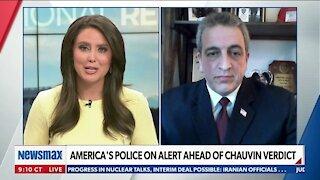 AMERICA'S POLICE ON ALERT AHEAD OF CHAUVIN VERDICT