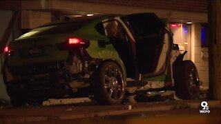 Pedestrian, newborn baby dead after driver loses control of vehicle and crashes