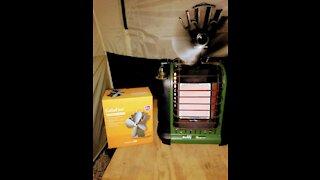 Buddy heater modification