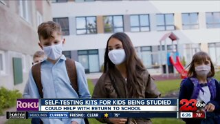 Study suggests self-testing for kids could help reduce PPE costs for schools