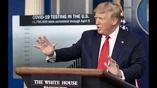 Trump say U.S. will halt World Health Organization funding