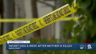 Infant dies week after Martin County husband shoots, kills wife