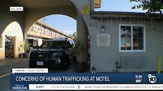 Concerns of human trafficking at motel