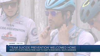 'Team Suicide Prevention' welcomed home