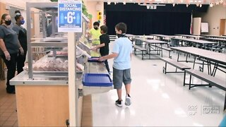 Polk County school cafeterias will look different to prevent COVID-19