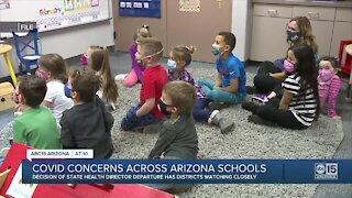 COVID concerns across Arizona schools