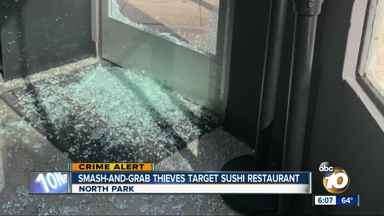 Thieves target North Park restaurant